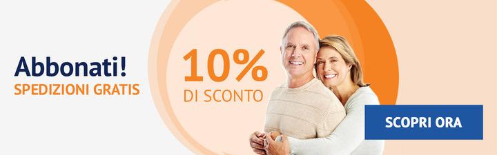 Abbonati e risparmia il 10%!