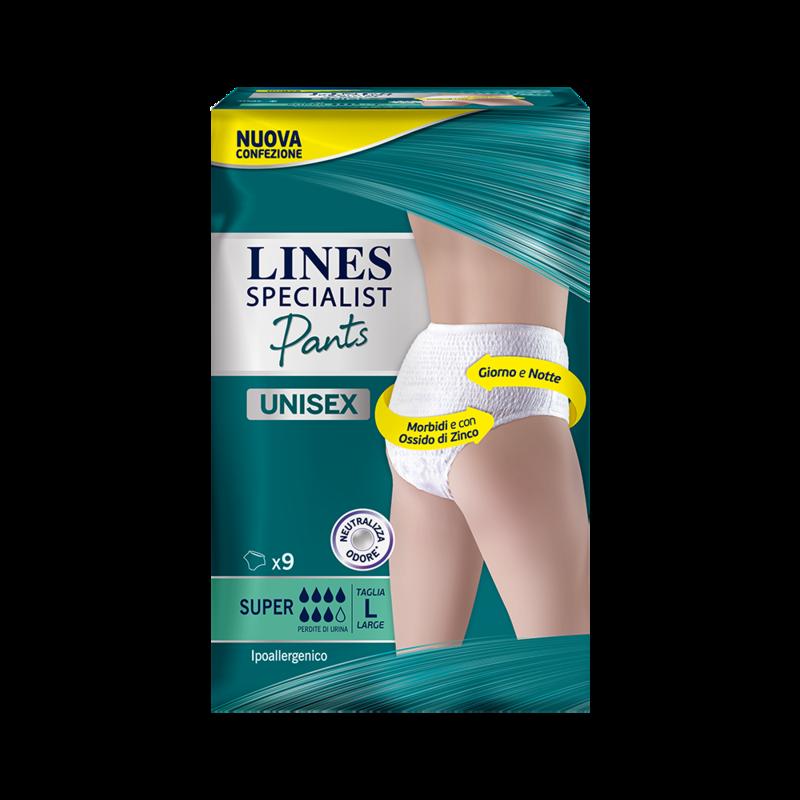 Acquista online Lines Specialist Pants SuperUltra Mini | Linea prodotto Alte per uomo e donna. Lines Specialist, prodotti per perdite di urina Pants livello Super - taglia large